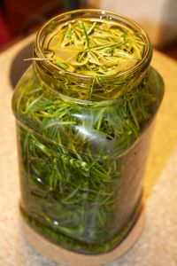 rosemary and oil