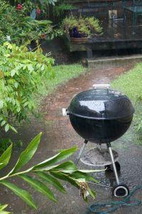 grill rain