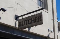 butcher sign
