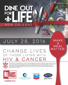 dining out for life 2016